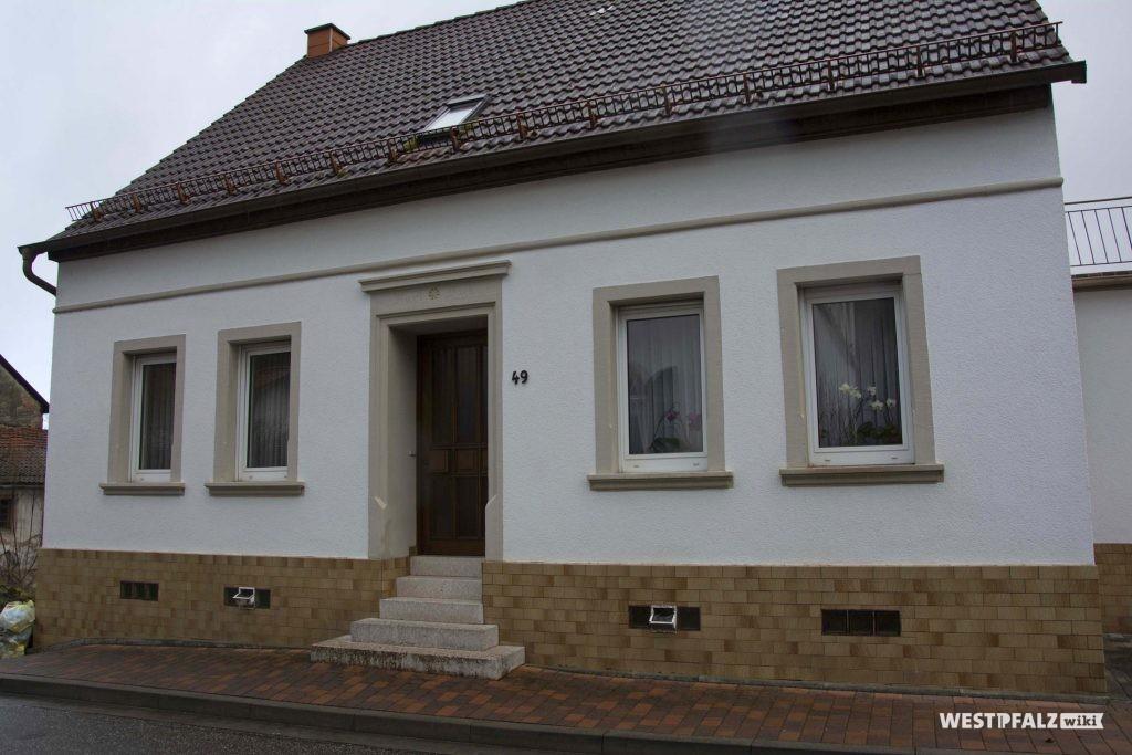 Wohnhaus Dickschmidds in Hinzweiler