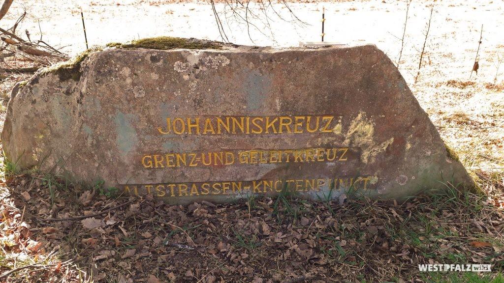 """Ritterstein """"Johanniskreuz Grenz- und Geleitkreuz Altstrassen-Knotenpunkt"""""""