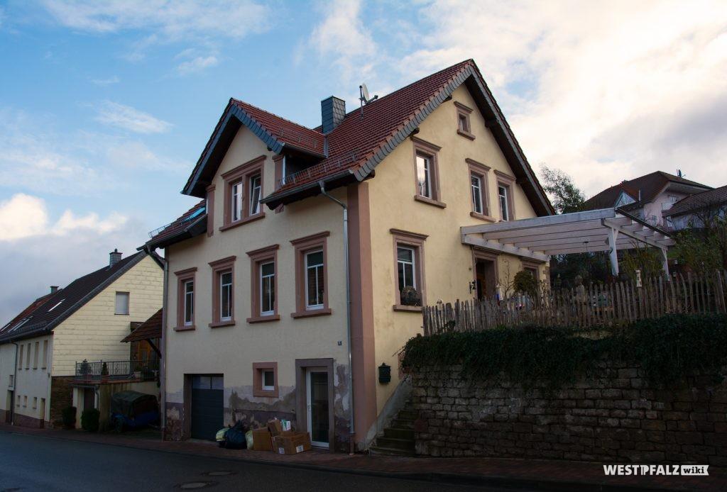 Ehemaliges Musikantenhaus des Kapellmeisters Otto Schwarz