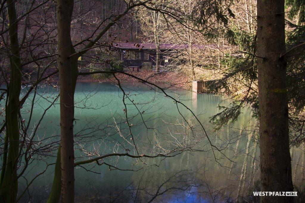 Fischweiher an der PWV-Hütte