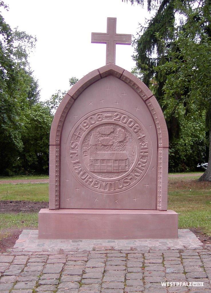Gedenkstein 100 Jahre St. Laurentius