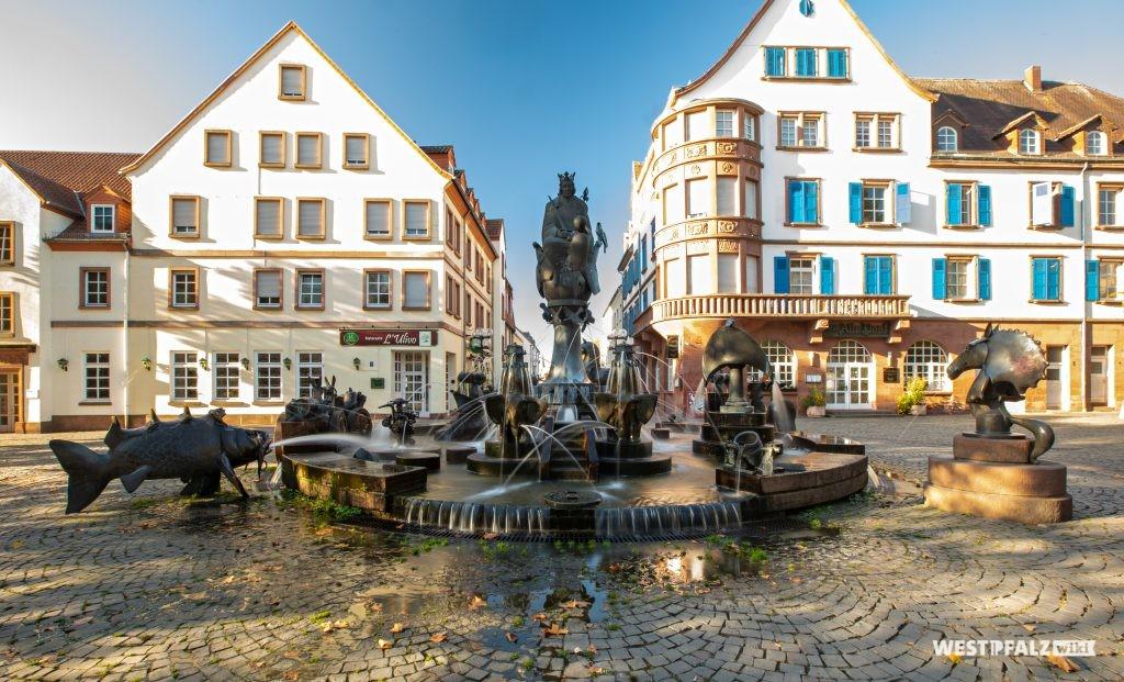 Kaiserbrunnen in Kaiserslautern