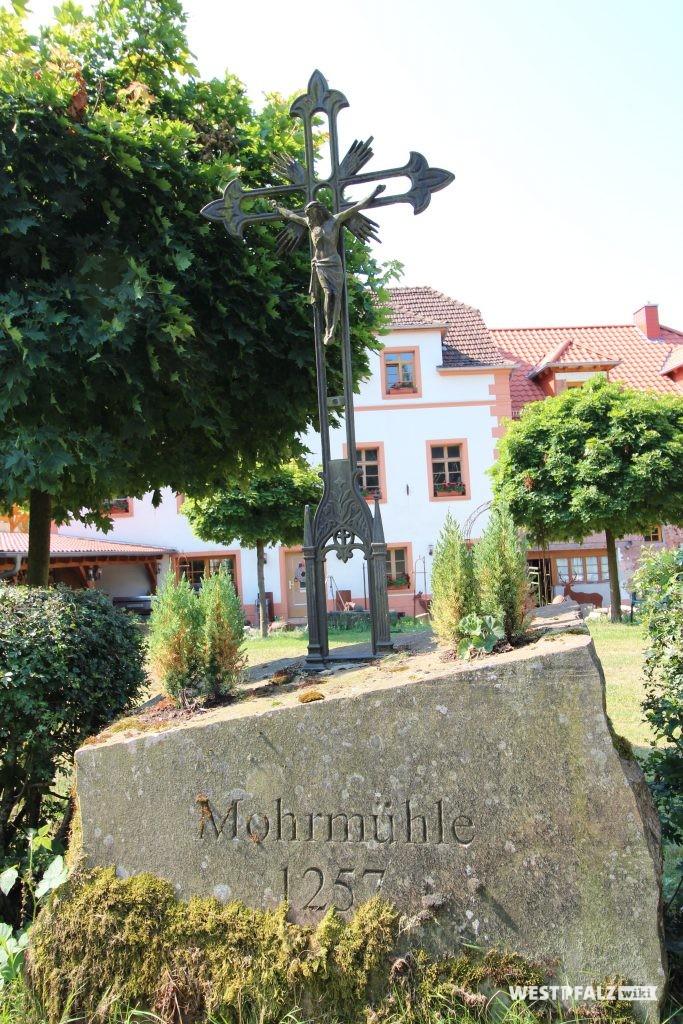 Mohrmühle in Waldmohr mit eingravierter Jahreszahl