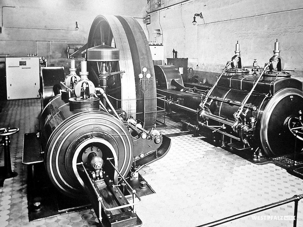 Spinnerei Lampertsmühle - Dampfturbinengenerator