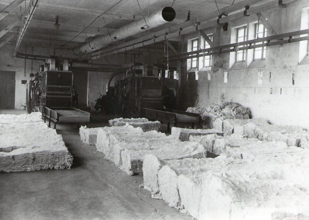 Spinnerei Lampertsmühle - Vorbereitungsraum für Baumwolle