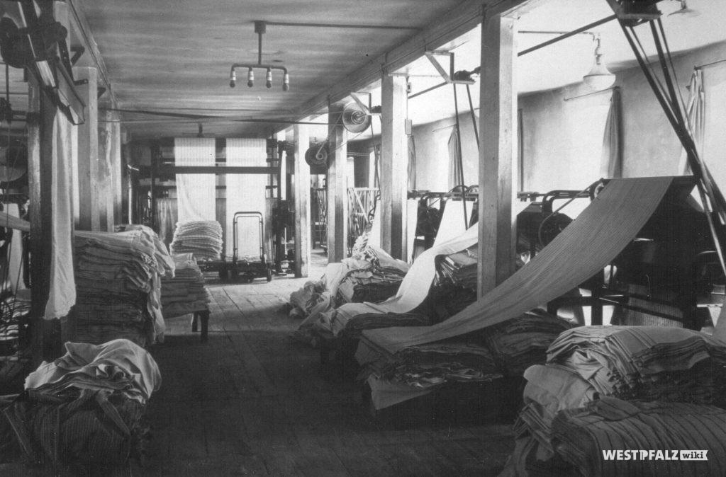 Spinnerei Lampertsmühle -  Tuchzimmer (Kontrolle)