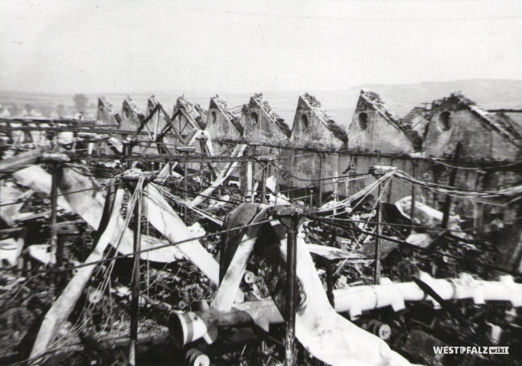 Spinnerei Lampertsmühle - zerstörte Fabrik