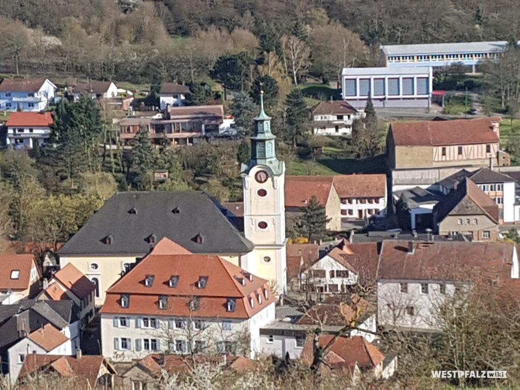 Protestantische Kirche in Obermoschel