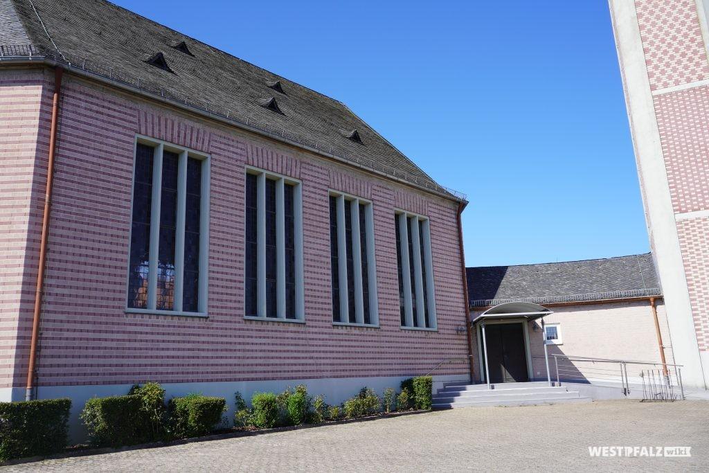 Kirchengebäude der protestantischen Kirche in Rodenbach