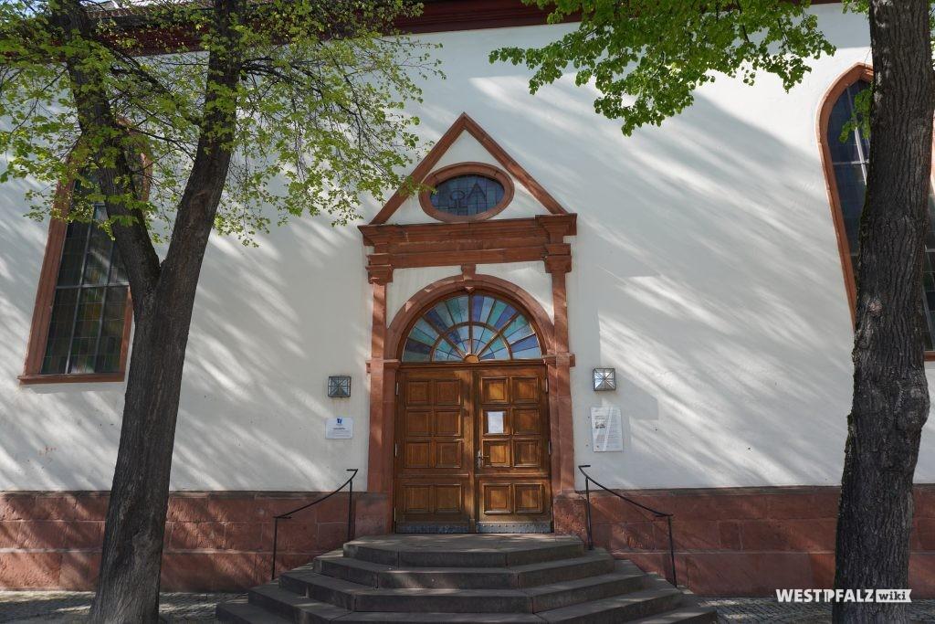 Eingangsportal der Unionskirche Kaiserslautern
