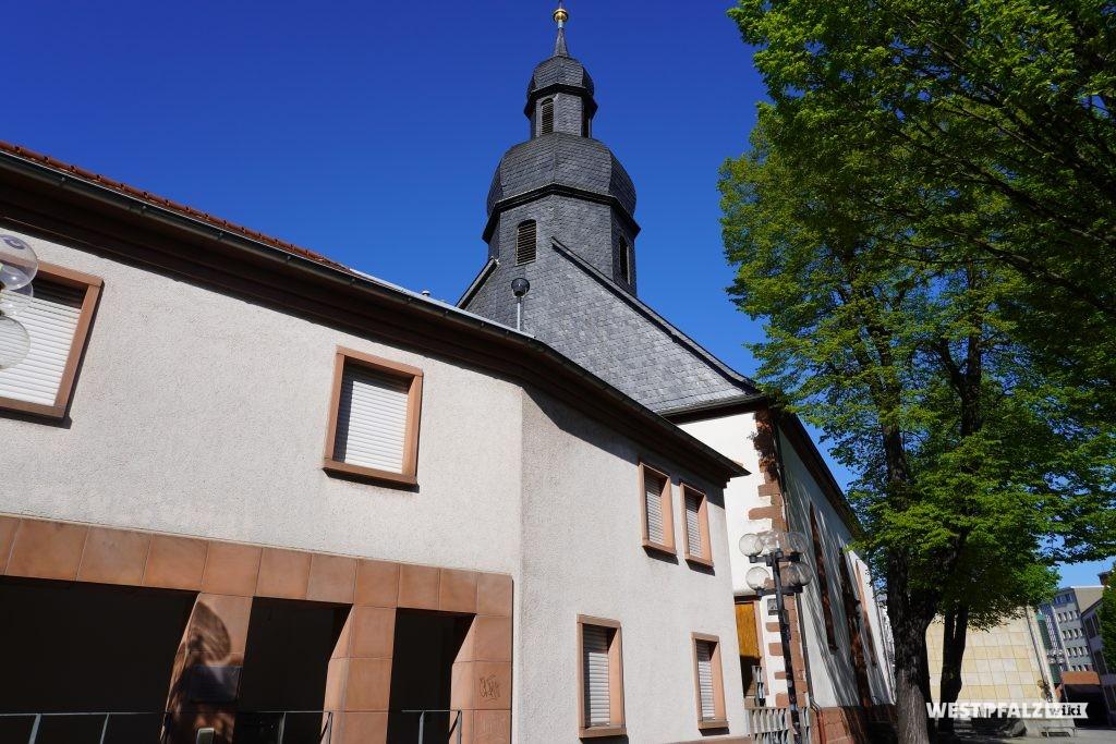 Dachreiter mit Welscher Haube der Unionskirche