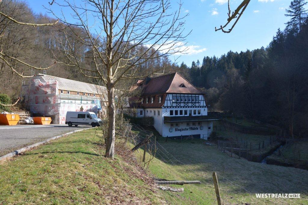 Blick von Norden auf die Klug'sche Mühle