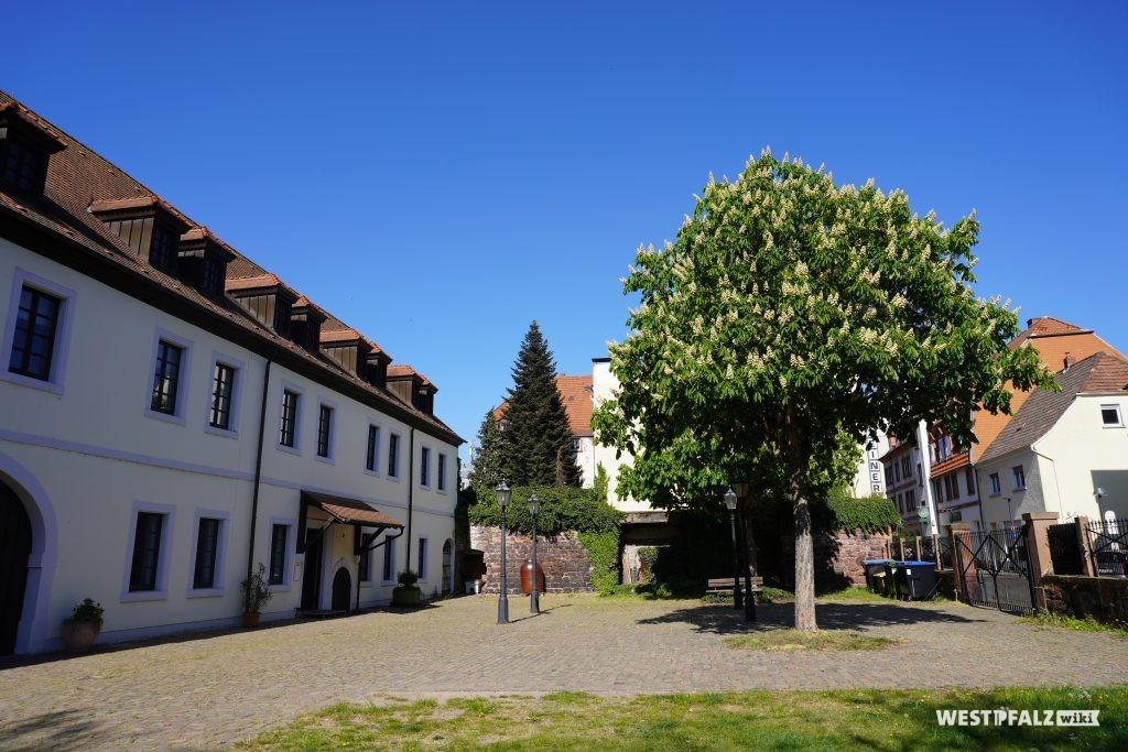 Innenhof des Wadgasserhof in Kaiserslautern