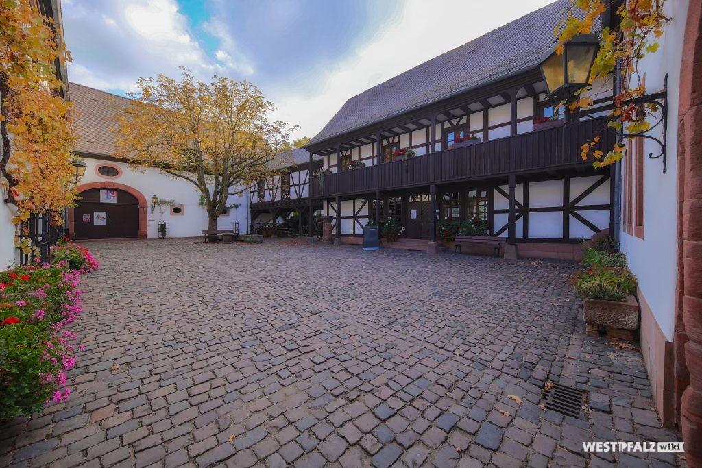Innenhof des Theodor-Zink-Museums
