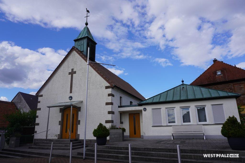 Die protestantische Kirche in Schwedelbach
