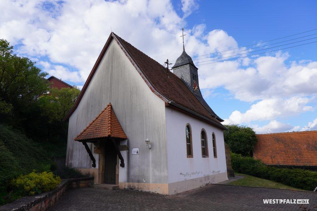 Die protestantische Kirche in Kollweiler