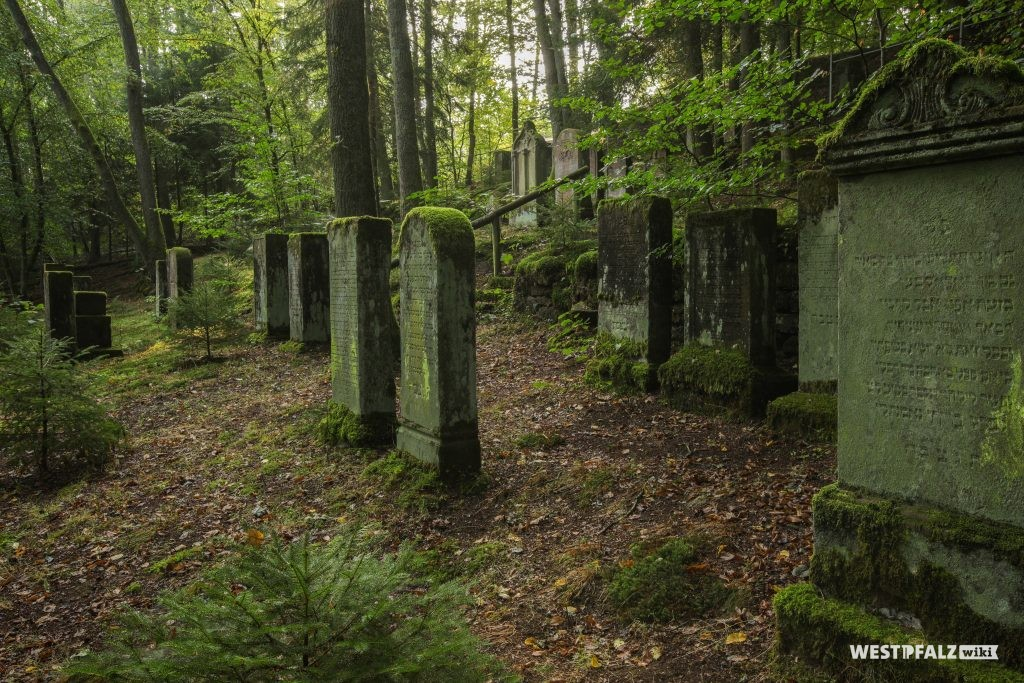 Jüdischer Friedhof in der Zeppelinstraße in Pirmasens