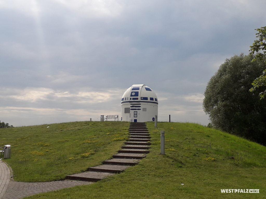 Die Sternwarte in Zweibrücken in R2-D2 Design