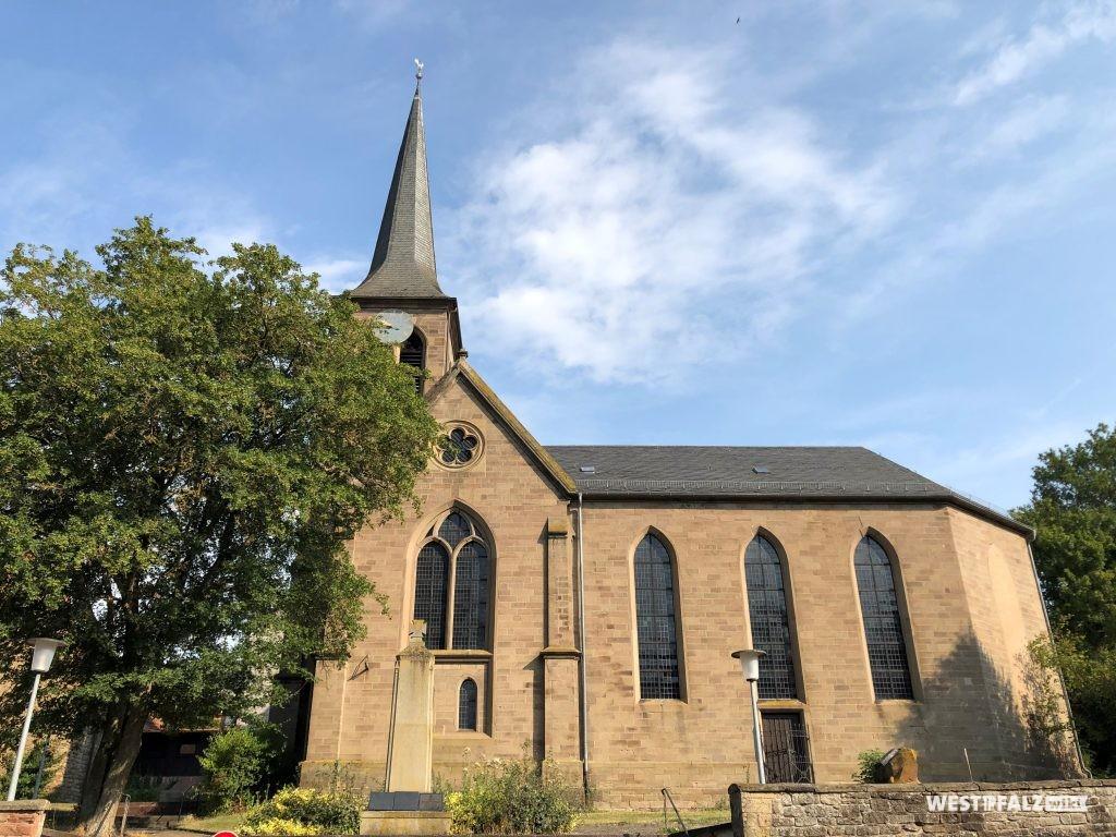Die protestantische Kirche in Heimkirchen