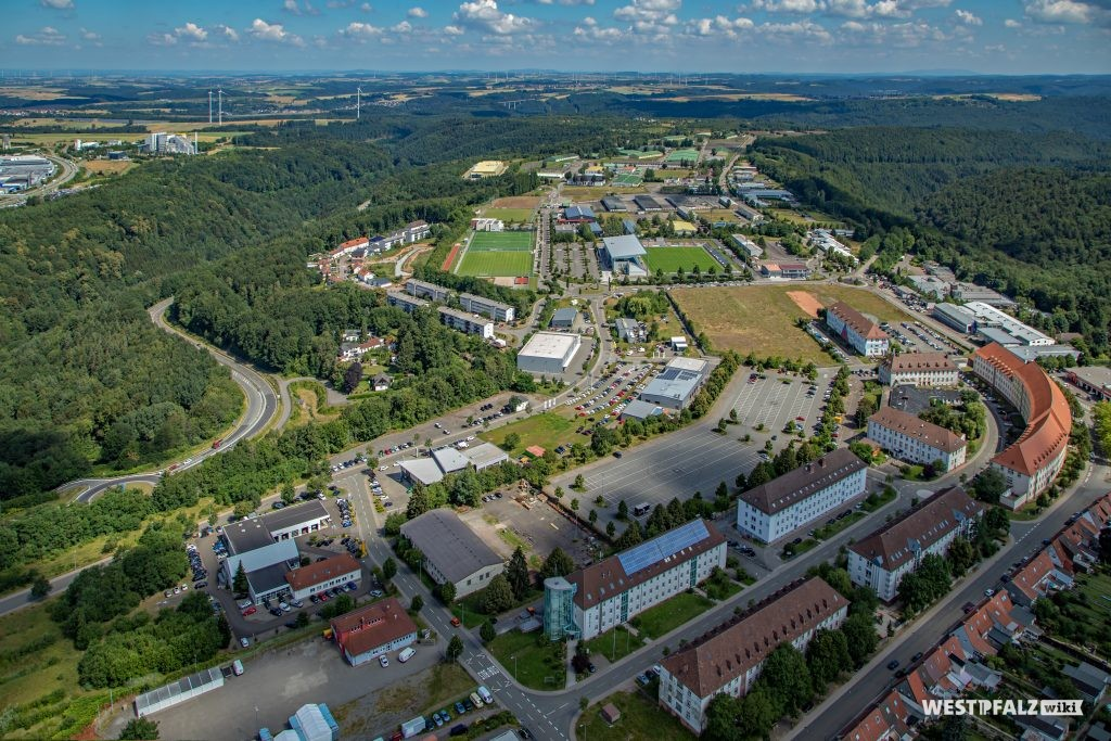 Luftaufnahme der Husterhöh-Kaserne