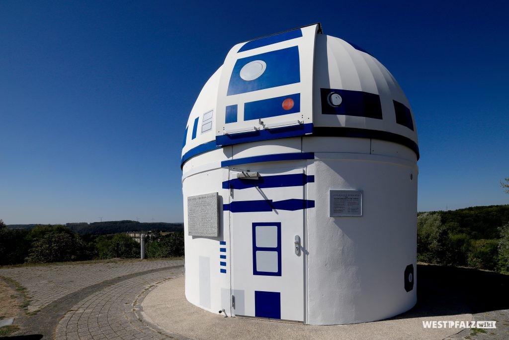 Volkssternwarte in Zweibrücken im R2-D2 Design