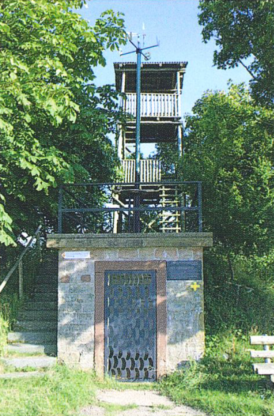 Schmitshauser Turm auf dem Wasserbehälter