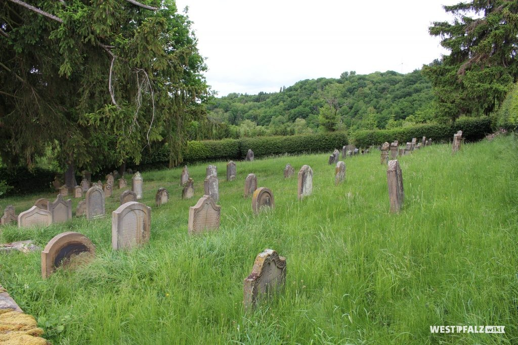 Jüdischer Friedhof bei Odenbach, Mai 2020