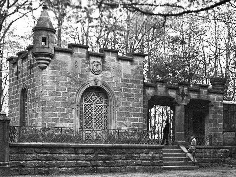 Der Caesarpark um das Jahr 1910