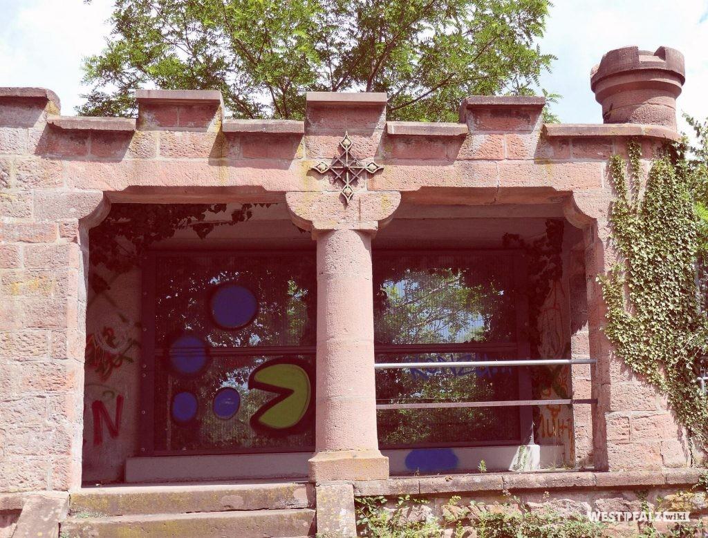 Erhaltener Pavillon im ehemaligen Caesarpark