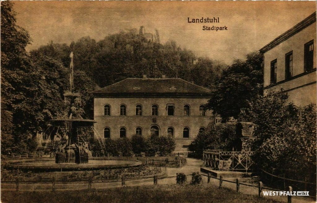 Alter Markt in Landstuhl um 1920