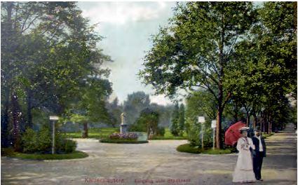 Früherer Stadtpark in Kaiserslautern