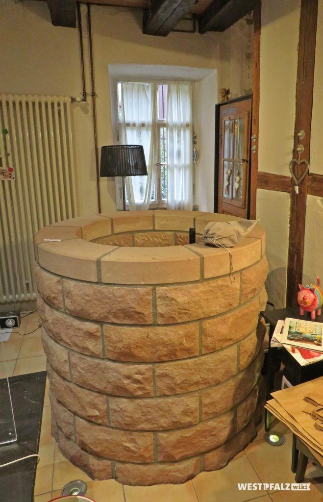 Rekonstruierter Brunnen