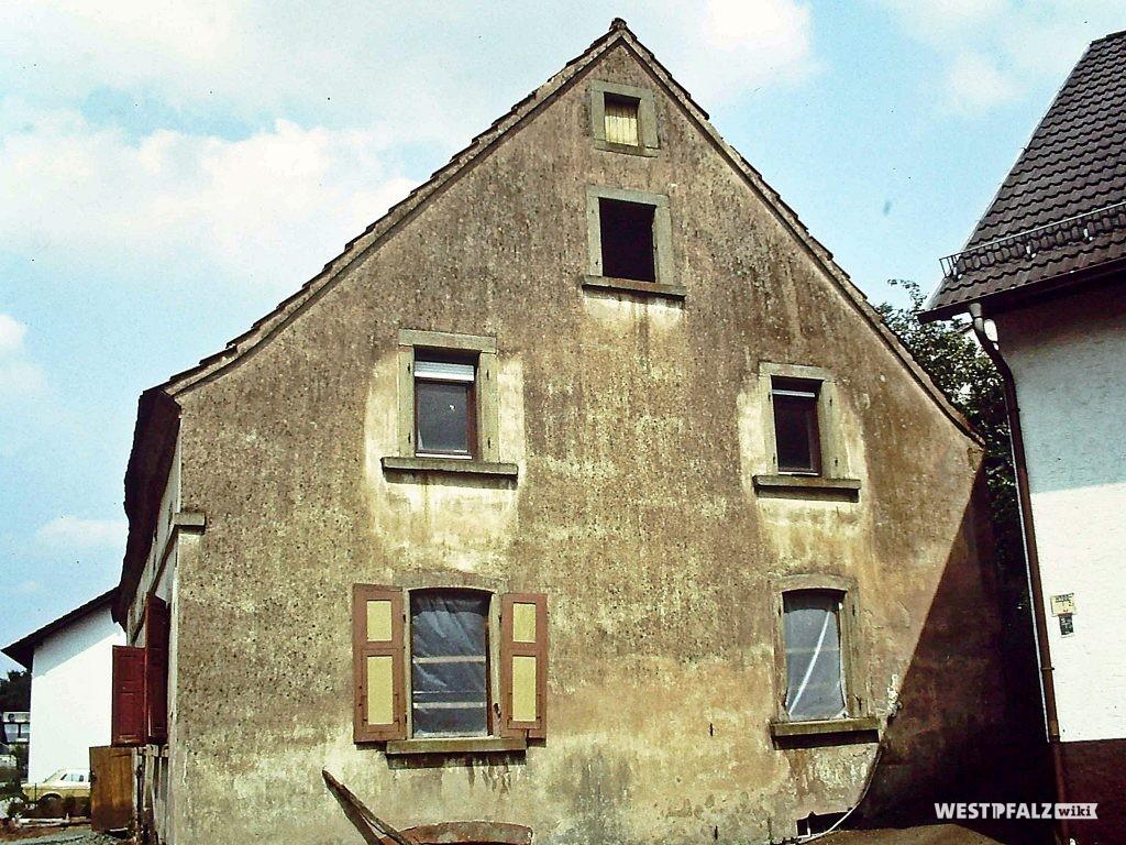 Bauernhaus Erfenbach vor Restaurierung