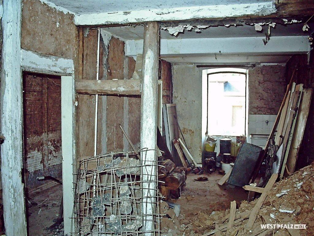 Bauernhaus Erfenbach vor Restaurierung - Innenräume