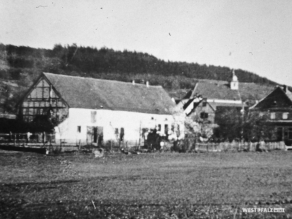 Bauernhaus Erfenbach um 1925