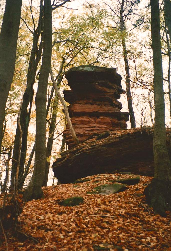 Naturdenkmal Atlasfelsen