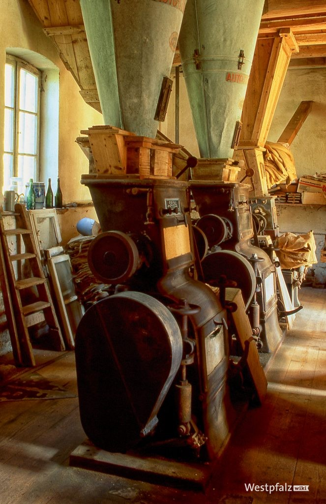 Mahlwerk der Rosselmühle bei Thaleischweiler-Fröschen